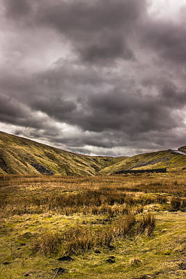 Photograph - Yorkshire Hills by David Warrington