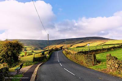 Yorkshire Roads Art Print by Niel Morley