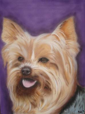 Painting - Yorkshire Terrier by Bas Hollander