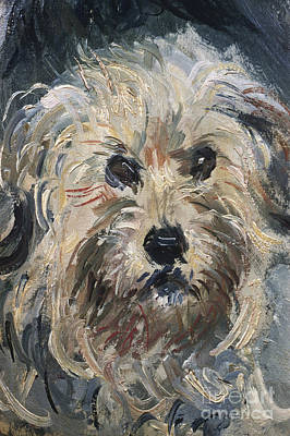Painting - Yorkshire Terrier by Celestial Images
