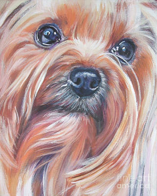 Yorkshire Terrier Wall Art - Painting - Yorkshire Terrier by Lee Ann Shepard
