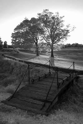 Photograph - Yorktown - Battlefield Foot Bridge by Liza Eckardt