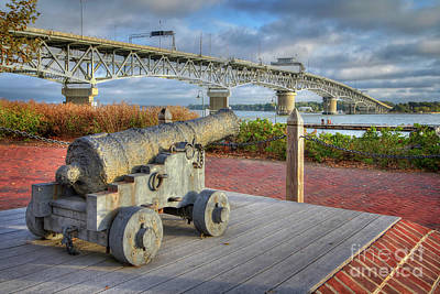 Photograph - Yorktown Virginia Canon by Karen Jorstad