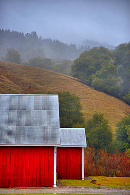 Photograph - Yorkville Barn by Josephine Buschman