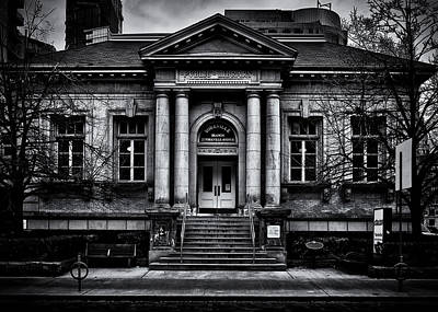 Photograph - Yorkville Public Library Toronto Canada by Brian Carson