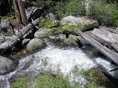 Photograph - Yosemite Whitewater by Richard Yates