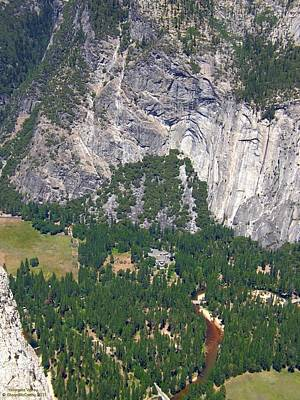 Photograph - Yosemite Aerial View - California by Glenn McCarthy Art and Photography