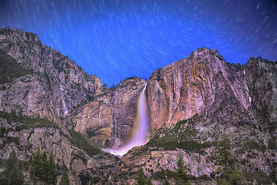 Photograph - Yosemite At Night by Patricia Dennis