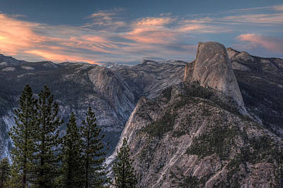 Photograph - Yosemite At Sunset by Michael Kirk
