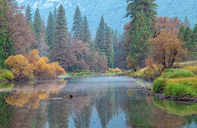 Photograph - Yosemite Autumn Scene by Jonathan Nguyen