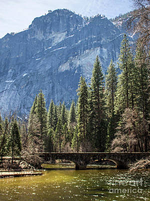 Photograph - Yosemite Bridge by Cheryl Del Toro