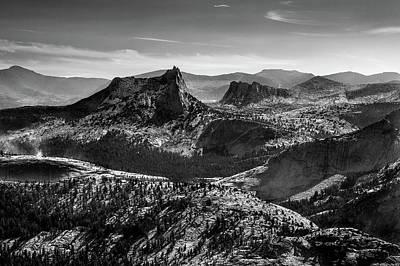 Photograph - Yosemite - Cathedral Peak by Alexander Kunz