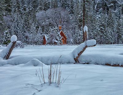 Photograph - Yosemite Chapel by Jonathan Nguyen
