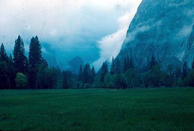 Yosemite Clouds II Art Print by Chris Gudger
