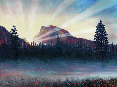 Painting - Yosemite Dawn by Douglas Castleman