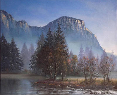 Yosemite Painting - Yosemite Dawn by Sean Conlon
