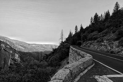 Photograph - Yosemite Drive by Joseph Caban