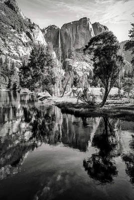Photograph - Merced River by Maria Coulson