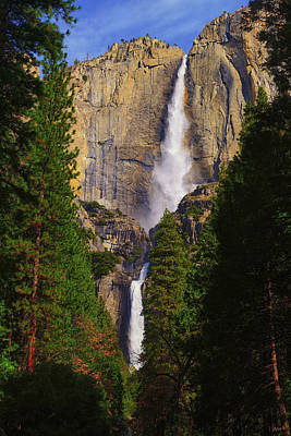 Yosemite Photograph - Yosemite Fall by Greg Norrell