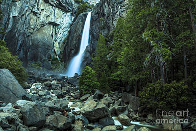 Photograph - Yosemite Falls 2 by Ben Graham
