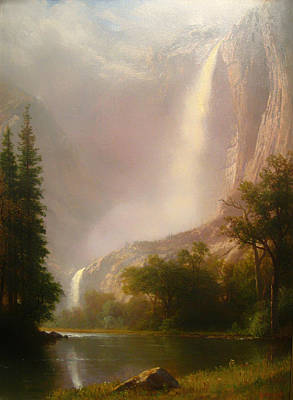 Yosemite Painting - Yosemite Falls by Mountain Dreams