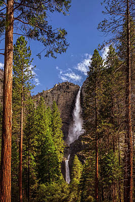 Photograph - Yosemite Falls by Andrew Soundarajan