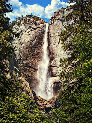 Photograph - Yosemite Falls by Anthony Dezenzio