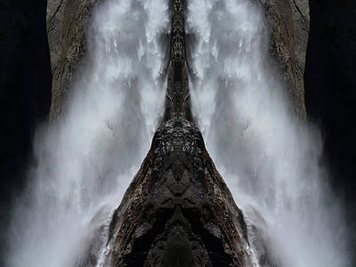 Photograph - Yosemite Falls Art Mirror by Kyle Hanson