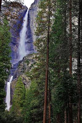 Photograph - Yosemite Falls C by Phyllis Spoor