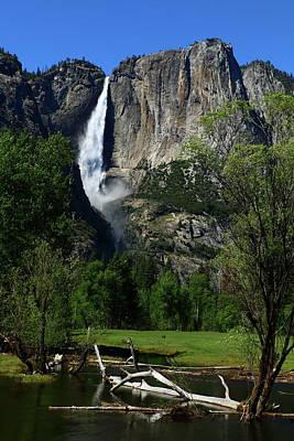 Photograph - Yosemite Falls by Christiane Schulze Art And Photography