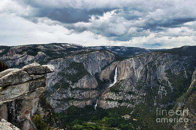 Photograph - Yosemite Falls From Glacier Point by David Arment