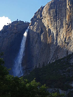 Photograph - Yosemite Falls by Jacqueline  DiAnne Wasson