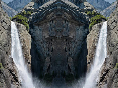 Photograph - Yosemite Falls Mirror by Kyle Hanson