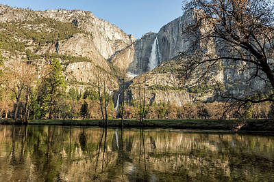 Photograph - Yosemite Falls On View by Belinda Greb