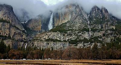 Photograph - Yosemite Falls Samsung A by Phyllis Spoor