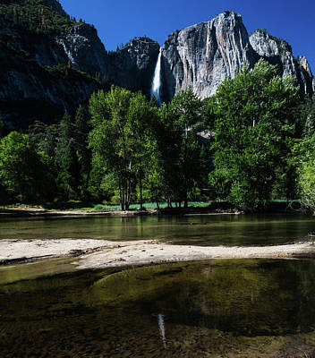 Photograph - Yosemite Falls by Walt Sterneman