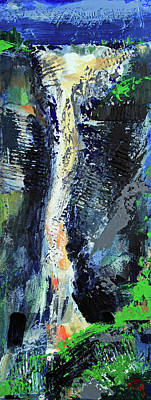 Painting - Yosemite Falls by Walter Fahmy