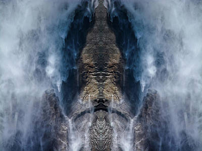 Photograph - Yosemite Falls Water Mirror by Kyle Hanson