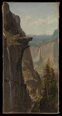 Yosemite Painting - Yosemite Falls by MotionAge Designs