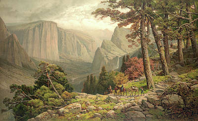Digital Art - Yosemite by Gary Grayson