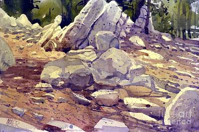 Yosemite Granite Art Print by Donald Maier