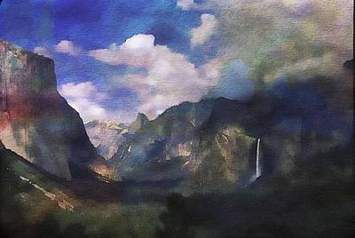 Yosemite H2o Color Art Print