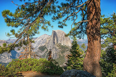 Photograph - Yosemite Half Dome 7r2_dsc2514_10082017  by Greg Kluempers