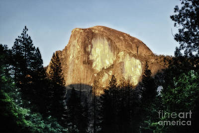 Photograph - Yosemite Half Dome Landscape by Toula Mavridou-Messer