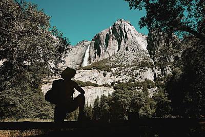 Yosemite Hiker Art Print by Marji Lang