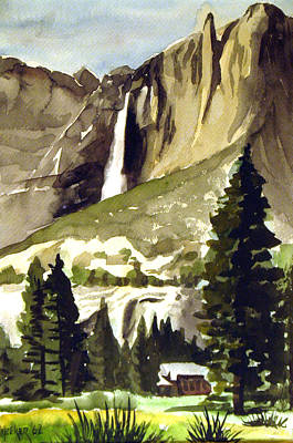 Yosemite Painting - Yosemite IIi by Bill Meeker