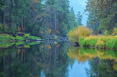 Photograph - Yosemite In Autumn 2 by Jonathan Nguyen