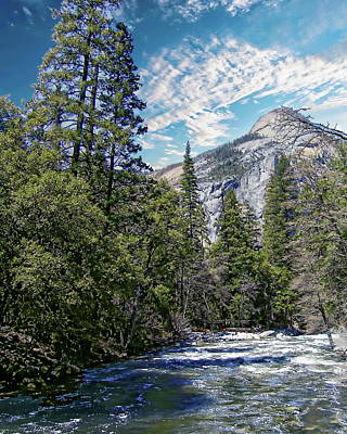 Photograph - Yosemite In The Spring by Anthony Dezenzio