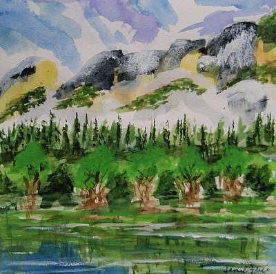 Painting - Yosemite by Jamie Frier