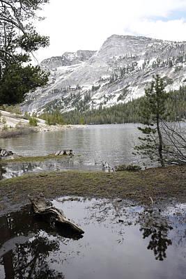 Yosemite Lake Reflections Art Print
